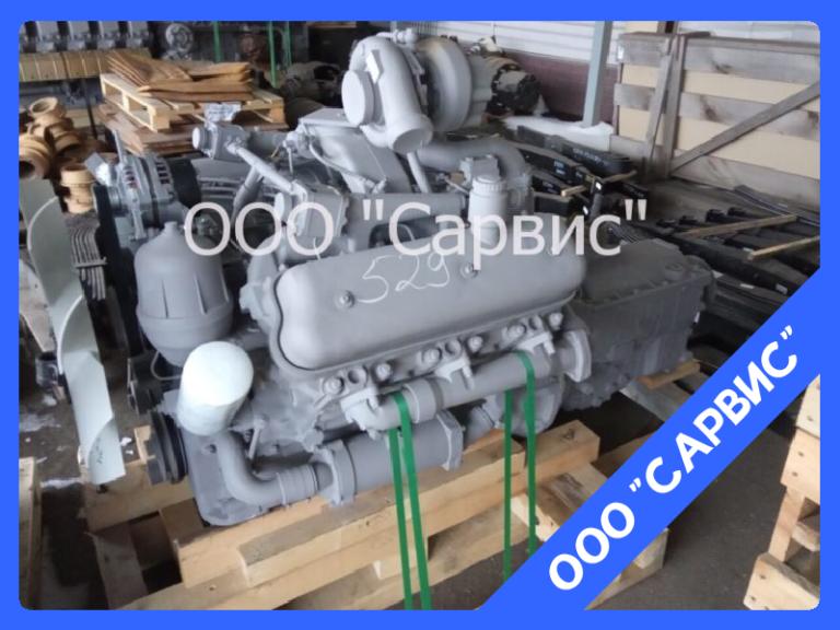 Двигатель ЯМЗ 236НЕ2-24