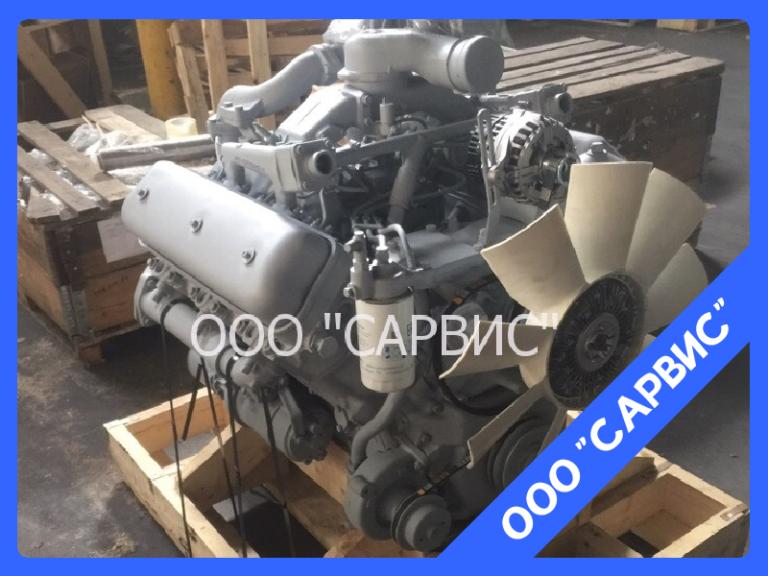 Двигатель ЯМЗ-236НЕ2-3 на Урал