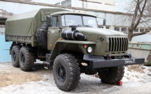 ЯМЗ на Урал 4320
