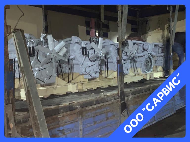 Пять двигателей ЯМЗ 238НД5
